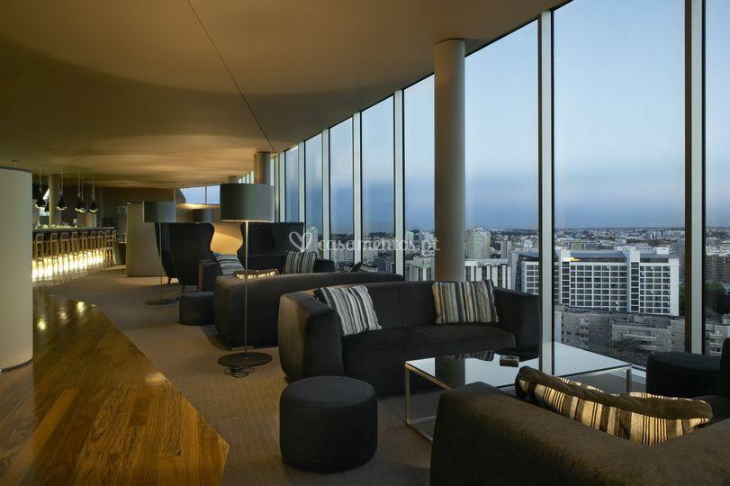 Vip lounge interior