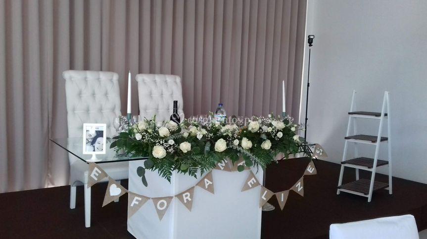 Mesa noivos simpliciade