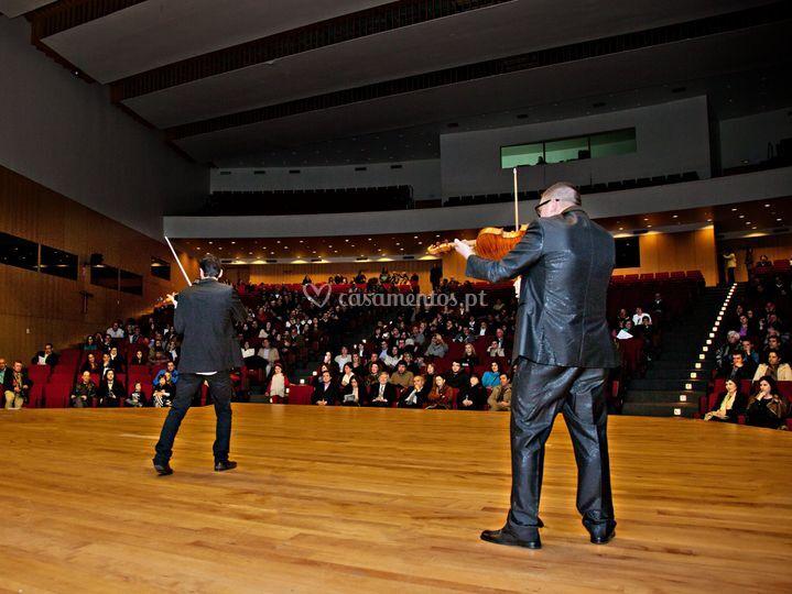 Os violinistas