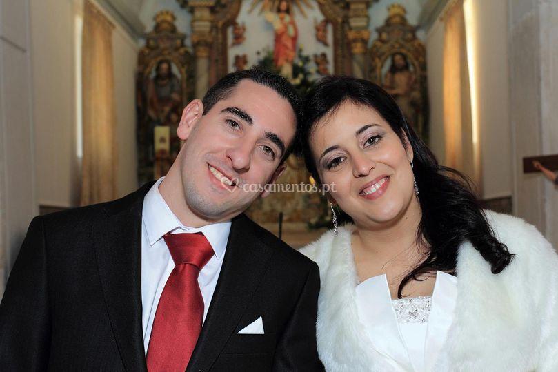 Casamento Alcina e Brandão