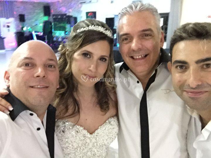 Cláudia e Zé Carlos
