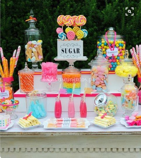Candy bar happy