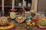 Mesa da fruta.