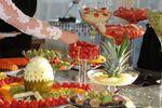 Buffet de fruta.