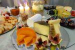 Mesa de queijos.