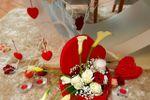 Mesa dos noivos.