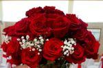 Flores mesa dos noivos.