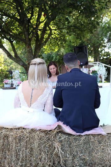 Casamento civil...cenário com