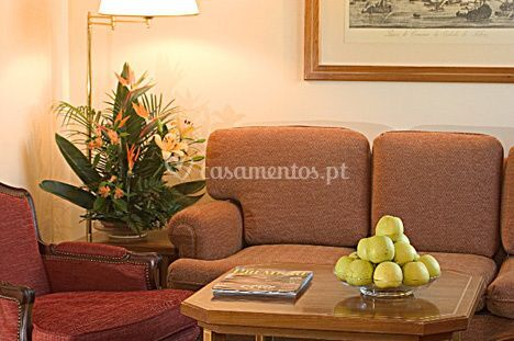 Suíte - sala de estar