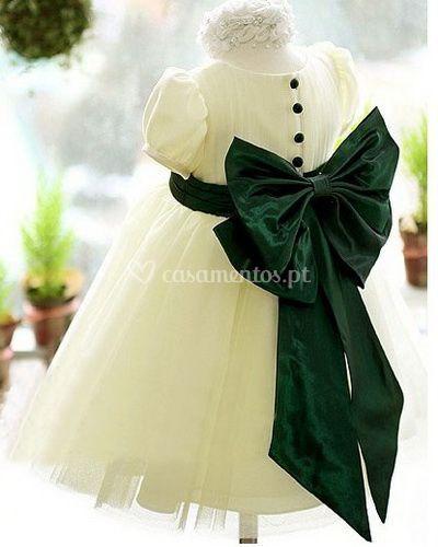 Vestidos de cerimónia Infantis