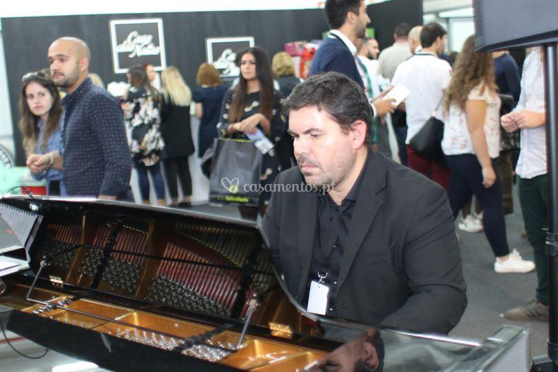 Pianista Jorge Azevedo