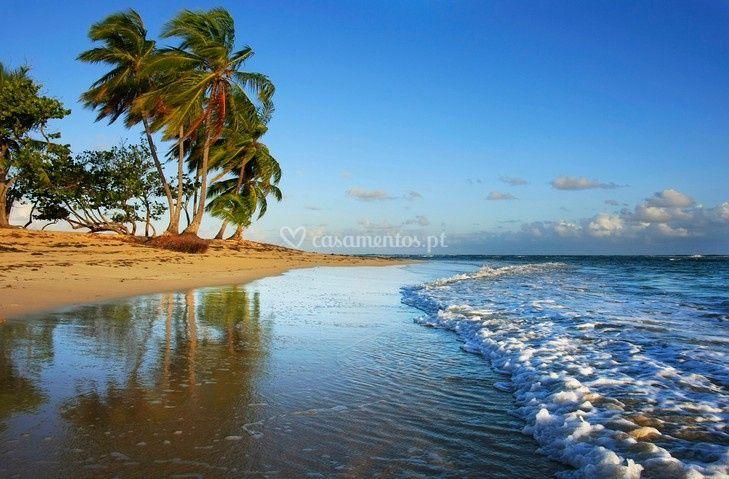 Praia do Baia Príncipe Rep.Dom