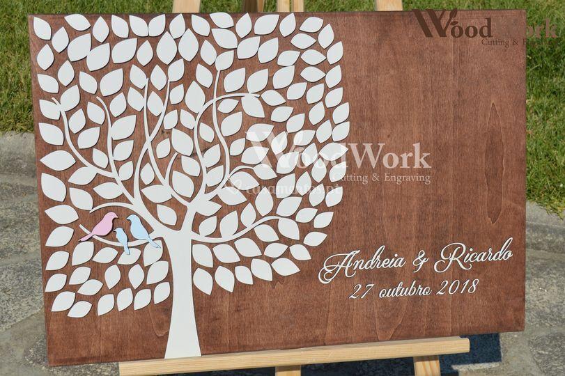 Árvore Assinaturas Rustica