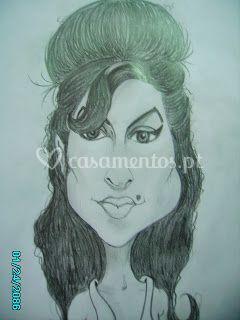 Caricatura Amy