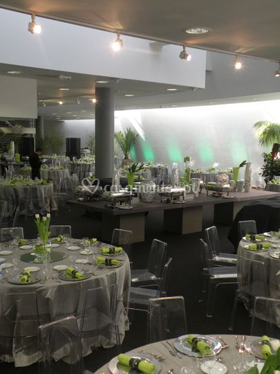 Mesas do evento