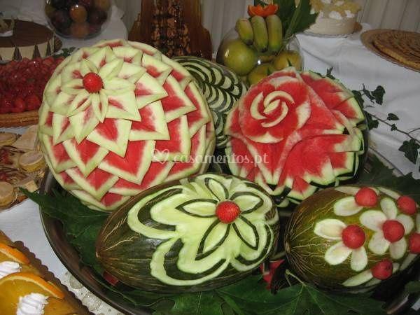 Mesa fruta