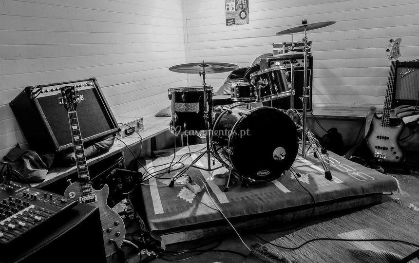 Instrumentos da Banda