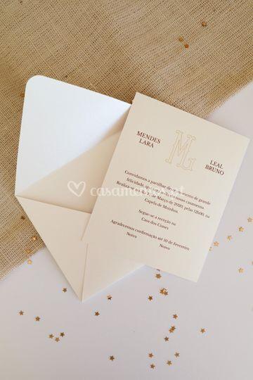 Convite casamento ml