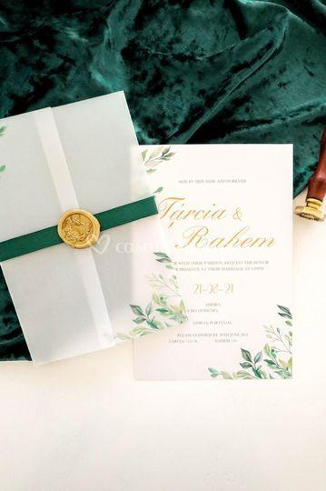 Convite Tárcia & Rahem