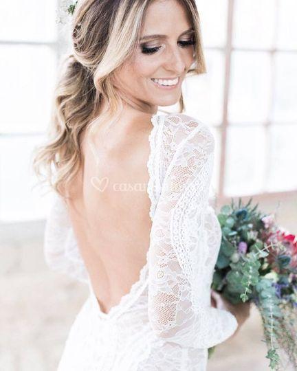 Hair bride by Lilia Costa