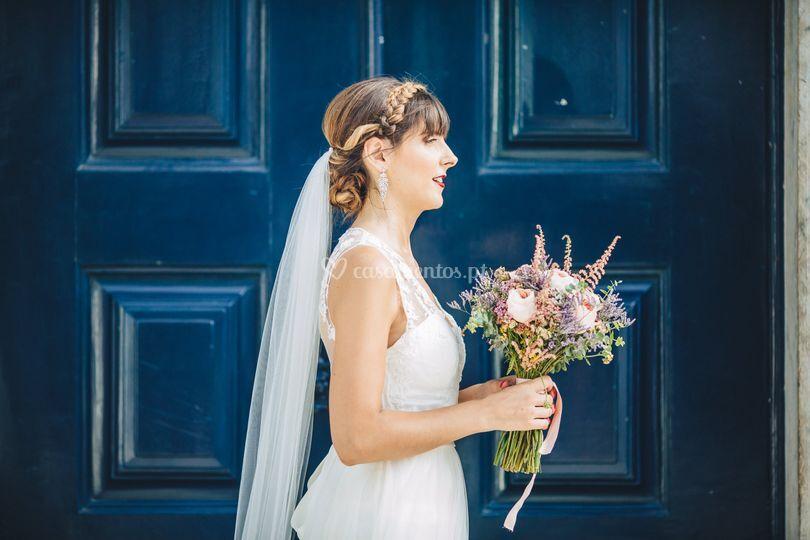 Bride hair by lilia costa