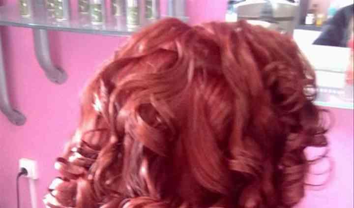 Bonito cabelo cacheado