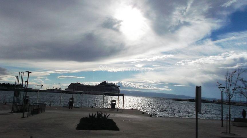 Cruzeiro no Mediterraneo