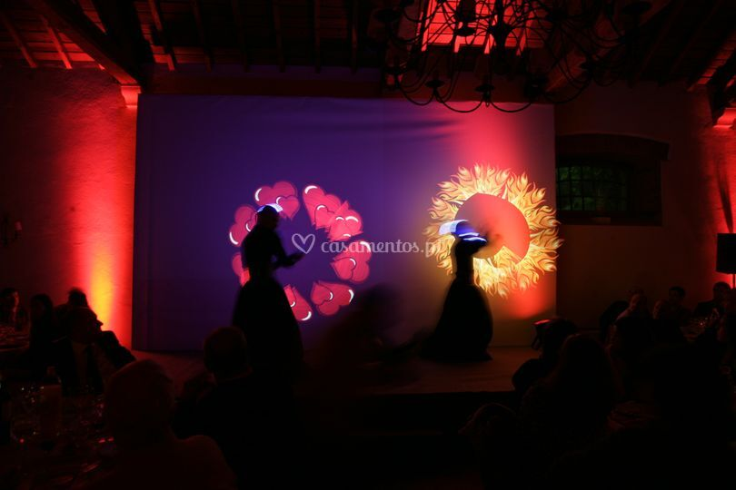 Led art performance