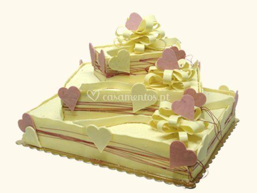 Um bolo cheio de amor