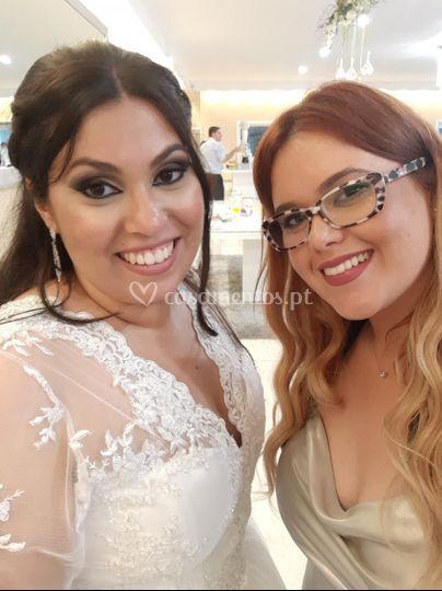 Noiva e convidada