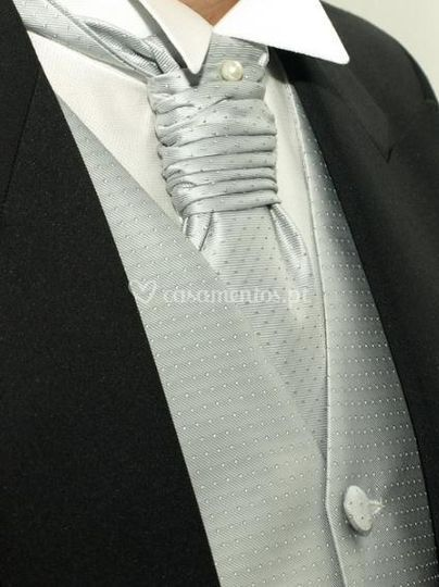 Gravata e colete para alugar