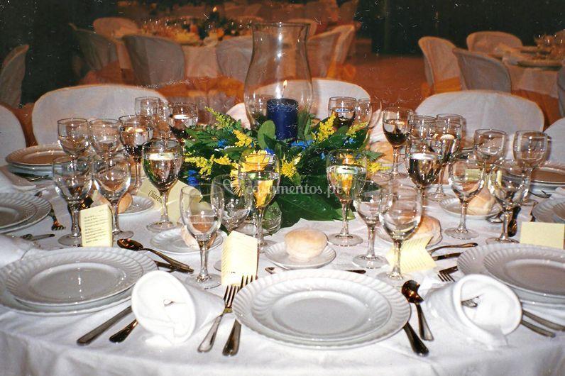 Uma mesa impecável