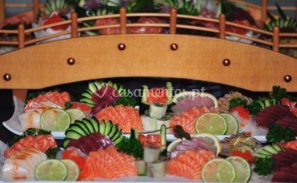 Para os amantes de sashimi