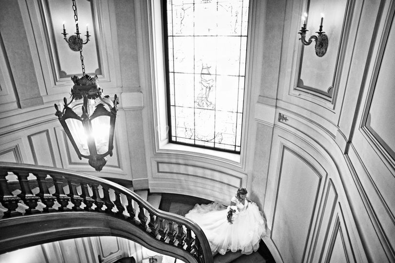 Antes da cerimónia no palácio