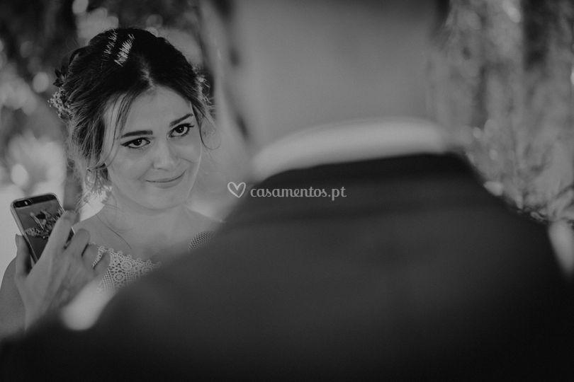 Emoções de noiva