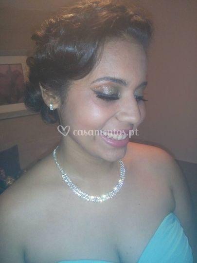 Noiva simples e elegante
