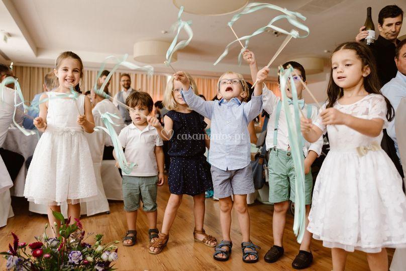 Animação com as crianças
