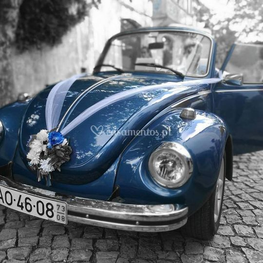 Azul com motorista
