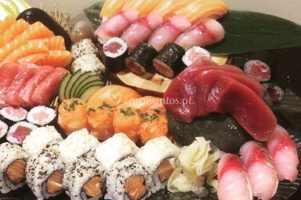 Sushi to sashimi