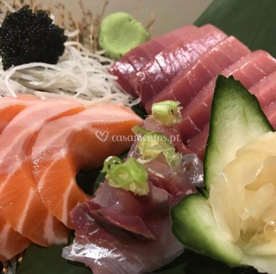Combinado sashimi