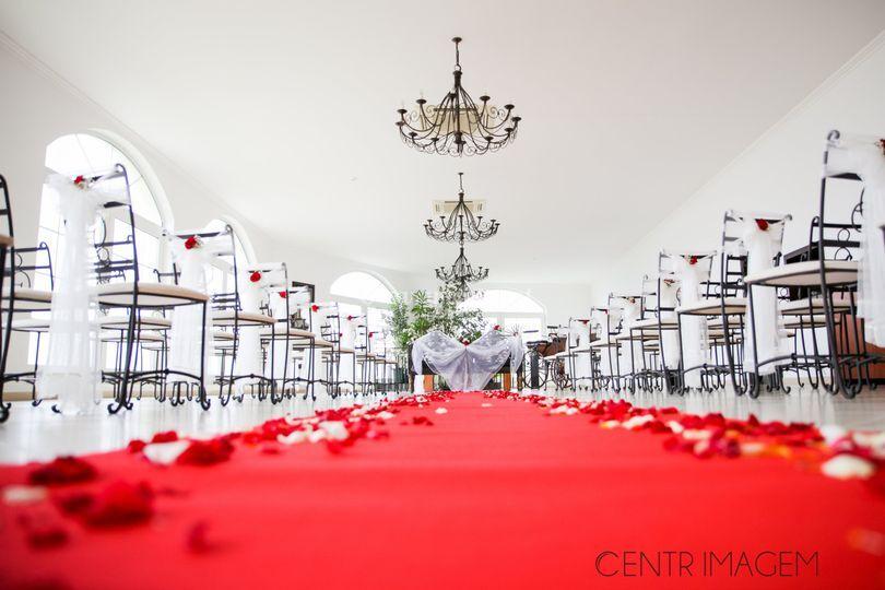 Cerimónia em sala