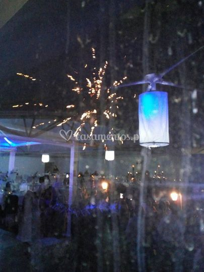 Fogo de artificio para eventos
