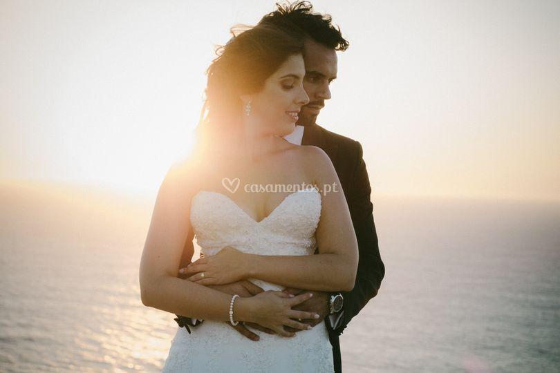 Abraço do casal