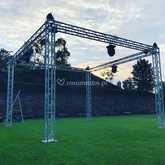 WEDD EVENTS - Box truss 6x6