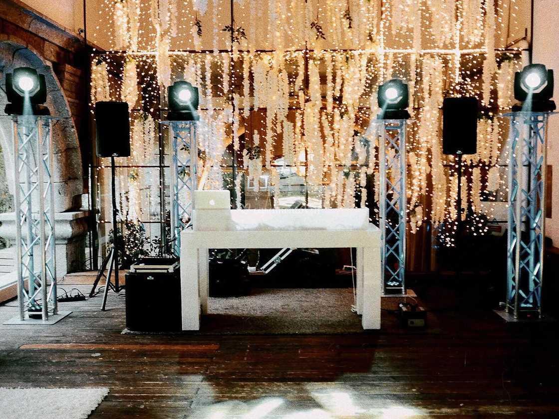 Led Force- Wedding setup
