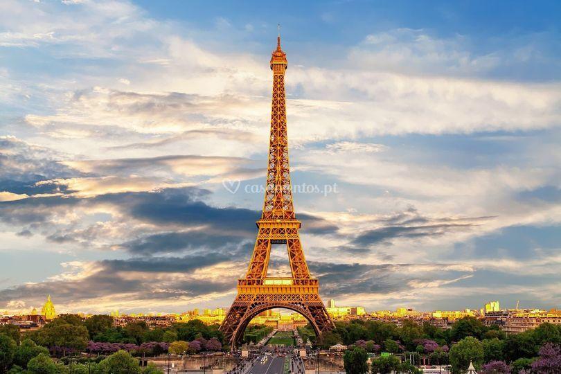 Lua-de-mel Paris