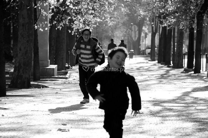Lisboa a correr