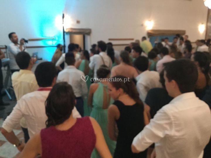 Danças em grupo