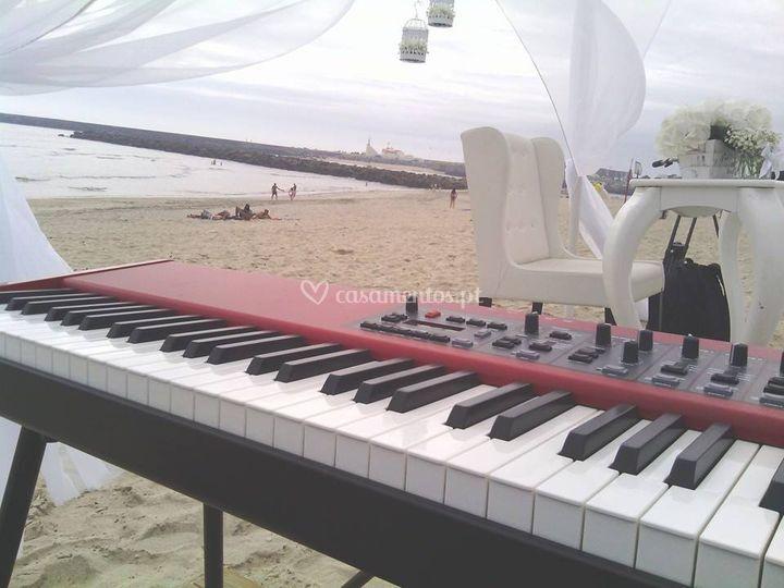 Cerimónia Civil na Praia