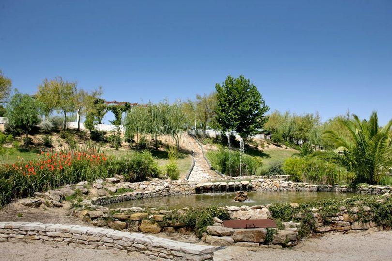 Quinta do grilo tem cascata